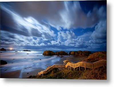 Bandon Nightlife Metal Print by Darren  White