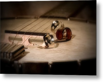 Banjo Metal Print by Tom Mc Nemar