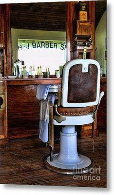 Barber - The Barber Shop Metal Print by Paul Ward