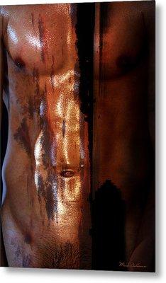 Barmuda Metallic  2 Metal Print by Mark Ashkenazi