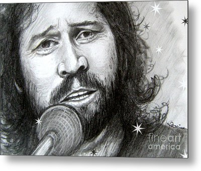 Barry Gibb Metal Print by Patrice Torrillo