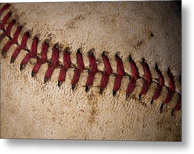 Baseball - America's Pastime Metal Print by David Patterson