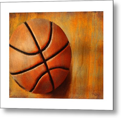 Basket Ball Metal Print by Craig Tinder