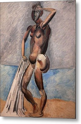 Bather Metal Print by Pablo Picasso