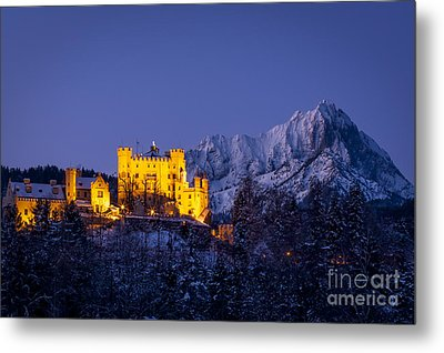 Bavarian Castle Metal Print by Brian Jannsen