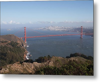 Bay From Marin Metal Print by Alison Miles