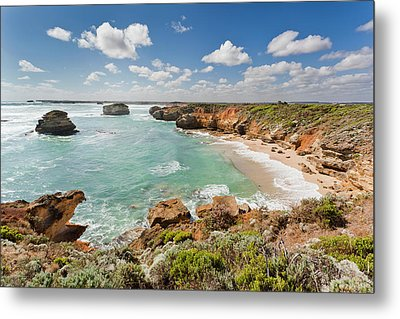 Bay Of Martyrs With Bay Of Islands Metal Print by Martin Zwick