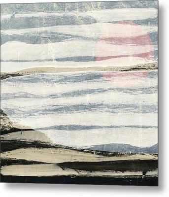Bayshore Sunset Metal Print by Carol Leigh