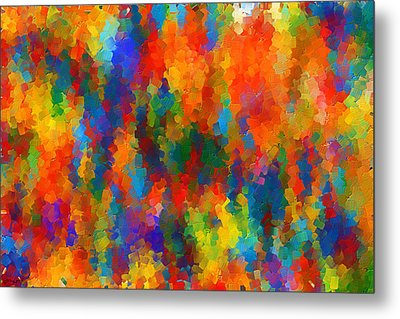 Be Bold Metal Print by Lourry Legarde