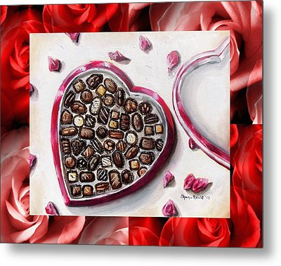 Be My Valentine Metal Print by Shana Rowe Jackson