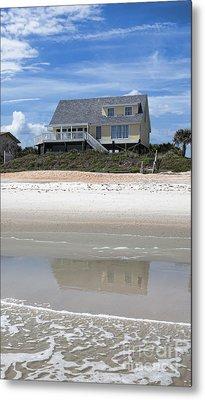 Beach House Metal Print by Kay Pickens