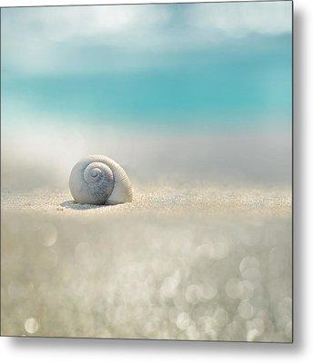 Beach House Metal Print by Laura Fasulo