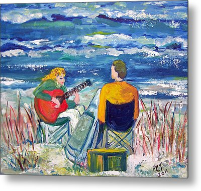 Beach Music Metal Print by Patricia Taylor