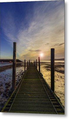Beach Sunrise V2 Metal Print by Ian Mitchell