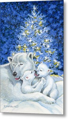 Bear Hug Metal Print by Richard De Wolfe