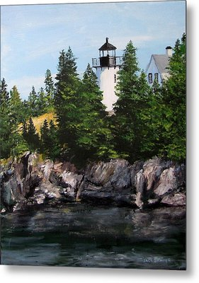 Bear Island Lighthouse Metal Print by Jack Skinner