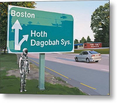 Bear Right For Hoth Metal Print by Scott Listfield