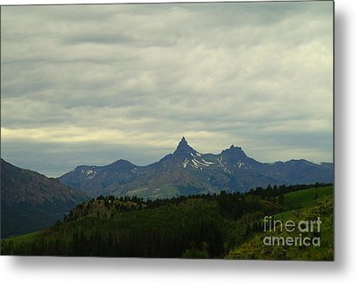Beartooth Mountain Montana Metal Print by Jeff Swan