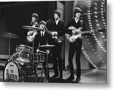 Beatles 1966 50th Anniversary Metal Print by Chris Walter
