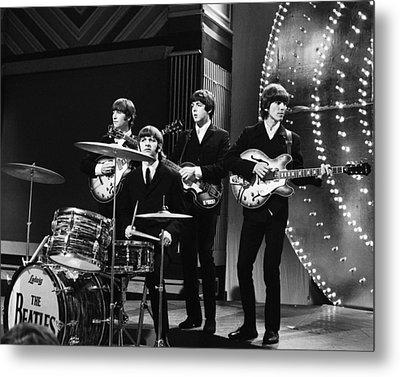 Beatles 1966 Metal Print by Chris Walter