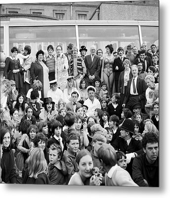 Beatles Magical Mystery Tour 1967 Metal Print by Chris Walter