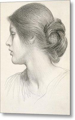 Beatrice Stuart Metal Print by Sir Frank Dicksee