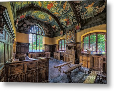 Beautiful 17th Century Chapel Metal Print by Adrian Evans