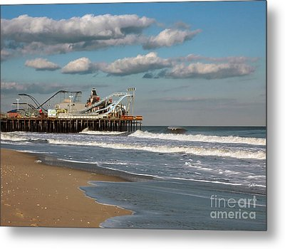 Beautiful Day At The Beach Metal Print by Photoart BySaMi