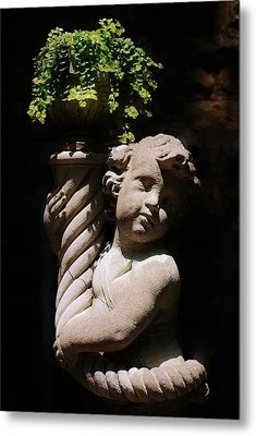 Beautiful Statue Metal Print by Joy Bradley
