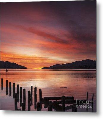 Beautiful Sunrise Metal Print by Colin and Linda McKie