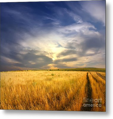 Beautiful Sunrise Pictures Metal Print by Boon Mee