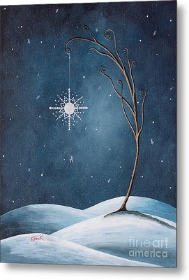 Beautiful Winterland By Shawna Erback Metal Print by Shawna Erback
