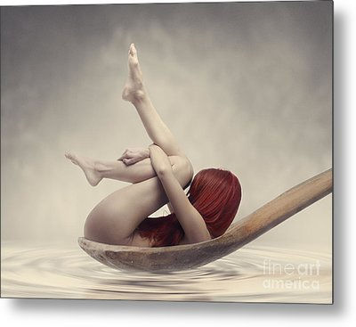 Beauty Bath Metal Print by Jelena Jovanovic