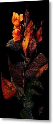 Beauty In The Dark Metal Print by Yolanda Raker