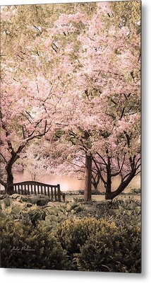Beauty Of A Spring Garden Metal Print by Julie Palencia