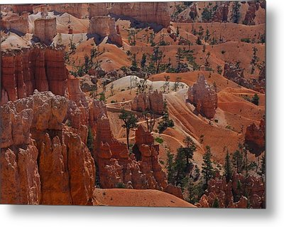 Beauty Of Bryce Metal Print by Kimberly Oegerle