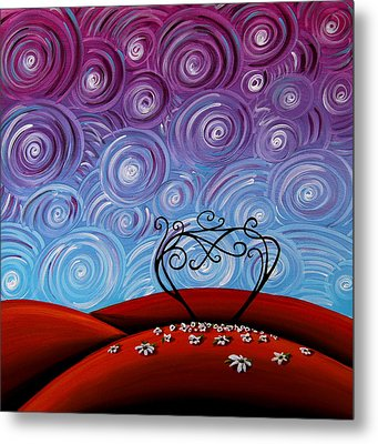 Because You're Mine Metal Print by Cindy Thornton