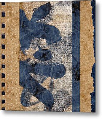 Behind The Screen Metal Print by Carol Leigh