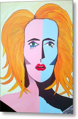 Being A Woman Metal Print by Aileen Carruthers