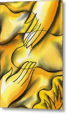 Belief Metal Print by Leon Zernitsky