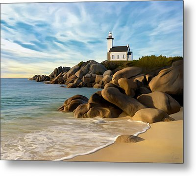 Belle Isle Light Metal Print by James Charles