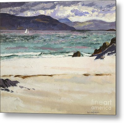 Ben Bhuie From The North End   Iona Metal Print by Francis Campbell Boileau Cadell