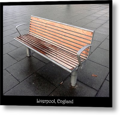 Bench #23 Metal Print by Roberto Alamino