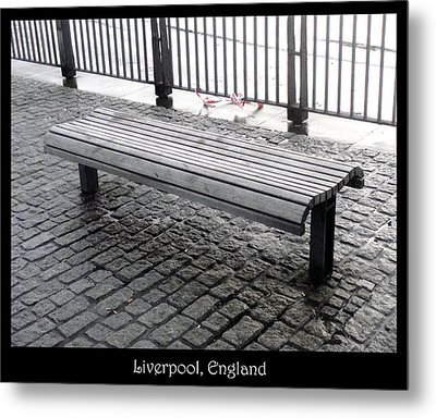 Bench #25 Metal Print by Roberto Alamino