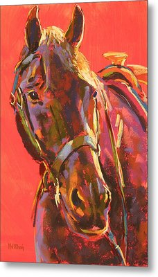 Benny Metal Print by Mary McInnis