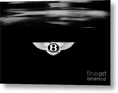 Bentley Continental Gt  Metal Print by Tim Gainey