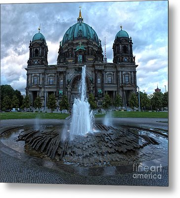 Berlin - Cathedral Metal Print by Gregory Dyer