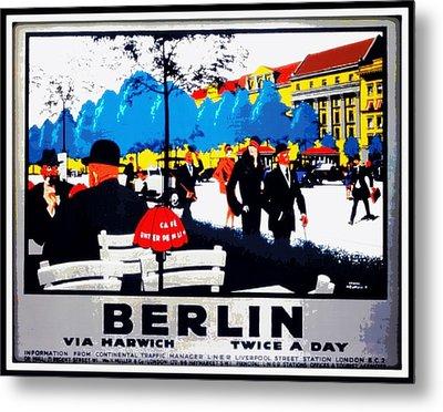 Berlin 1925 Metal Print by Unknown
