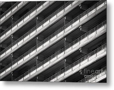 Berlin Balconies Metal Print by Rod McLean