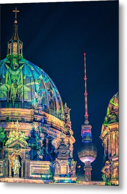 Berlin Cathedral Metal Print by Alexander Voss